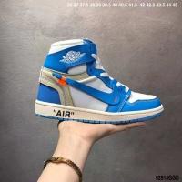 Nike Air Jordan 1 & Off-White For Men #497442