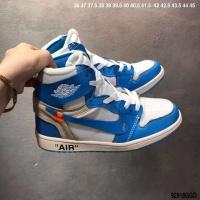 Nike Air Jordan 1 & Off-White For Women #497443