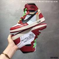Nike Air Jordan 1 & Off-White For Women #497444