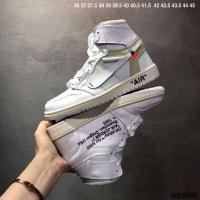 Nike Air Jordan 1 & Off-White For Women #497445
