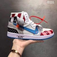 Nike Air Jordan 1 & Off-White For Women #497446