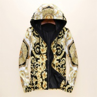 Versace Jackets Long Sleeved Zipper For Men #497453