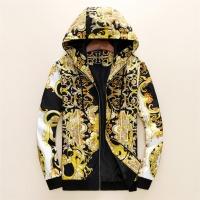 Versace Jackets Long Sleeved Zipper For Men #497454
