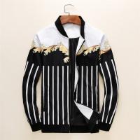 Versace Jackets Long Sleeved Zipper For Men #497456