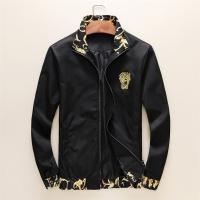 Versace Jackets Long Sleeved Zipper For Men #497457