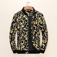 Versace Jackets Long Sleeved Zipper For Men #497459