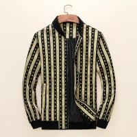 Versace Jackets Long Sleeved Zipper For Men #497460