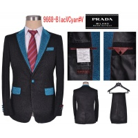 Prada Two-Piece Suits Long Sleeved Polo For Men #497475