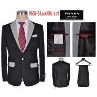 Prada Two-Piece Suits Long Sleeved Polo For Men #497476