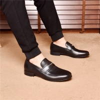 Cheap Prada Leather Shoes For Men #497734 Replica Wholesale [$82.45 USD] [W#497734] on Replica Prada Leather Shoes