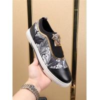 Cheap Versace Casual Shoes For Men #497785 Replica Wholesale [$72.75 USD] [W#497785] on Replica Versace Fashion Shoes