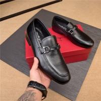 Salvatore Ferragamo SF Leather Shoes For Men #497807
