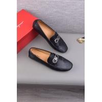 Cheap Salvatore Ferragamo SF Leather Shoes For Men #497808 Replica Wholesale [$72.75 USD] [W#497808] on Replica Ferragamo Leather Shoes
