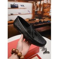Salvatore Ferragamo SF Leather Shoes For Men #497810