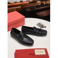 Salvatore Ferragamo SF Leather Shoes For Men #497811