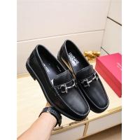 Salvatore Ferragamo SF Leather Shoes For Men #498079