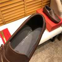 Cheap Salvatore Ferragamo SF Leather Shoes For Men #498081 Replica Wholesale [$77.60 USD] [W#498081] on Replica Ferragamo Leather Shoes