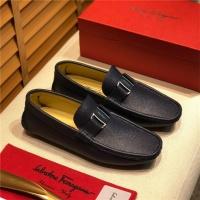 Salvatore Ferragamo SF Leather Shoes For Men #498086