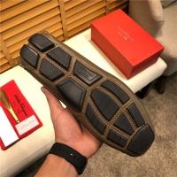 Cheap Salvatore Ferragamo SF Leather Shoes For Men #498087 Replica Wholesale [$77.60 USD] [W#498087] on Replica Ferragamo Leather Shoes