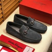 Salvatore Ferragamo SF Leather Shoes For Men #498091