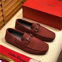 Salvatore Ferragamo SF Leather Shoes For Men #498092
