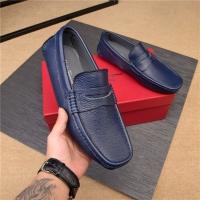Salvatore Ferragamo SF Leather Shoes For Men #498101