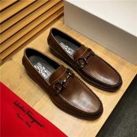 Salvatore Ferragamo SF Leather Shoes For Men #498104