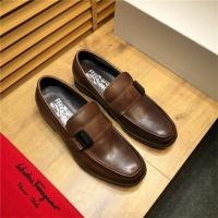 Salvatore Ferragamo SF Leather Shoes For Men #498106