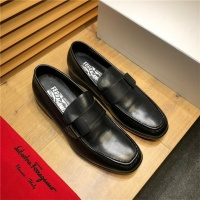Salvatore Ferragamo SF Leather Shoes For Men #498107