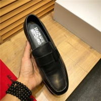 Cheap Salvatore Ferragamo SF Leather Shoes For Men #498107 Replica Wholesale [$79.54 USD] [W#498107] on Replica Ferragamo Leather Shoes