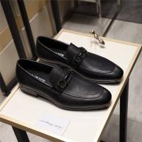 Salvatore Ferragamo SF Leather Shoes For Men #498108