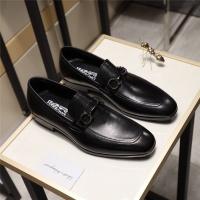 Salvatore Ferragamo SF Leather Shoes For Men #498110