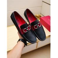 Salvatore Ferragamo SF Leather Shoes For Men #498111