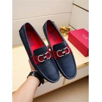 Salvatore Ferragamo SF Leather Shoes For Men #498112