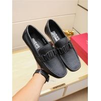 Salvatore Ferragamo SF Leather Shoes For Men #498113