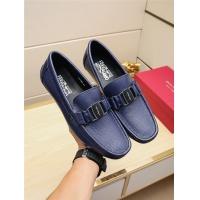 Salvatore Ferragamo SF Leather Shoes For Men #498114