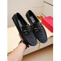 Salvatore Ferragamo SF Leather Shoes For Men #498115