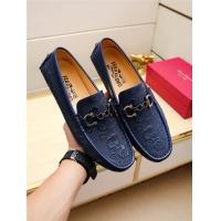 Salvatore Ferragamo SF Leather Shoes For Men #498116
