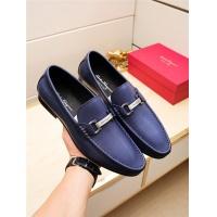 Salvatore Ferragamo SF Leather Shoes For Men #498118