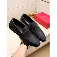 Salvatore Ferragamo SF Leather Shoes For Men #498119