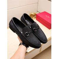 Salvatore Ferragamo SF Leather Shoes For Men #498120