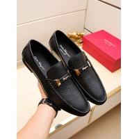 Salvatore Ferragamo SF Leather Shoes For Men #498121