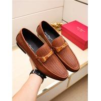 Salvatore Ferragamo SF Leather Shoes For Men #498123