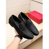 Salvatore Ferragamo SF Leather Shoes For Men #498124