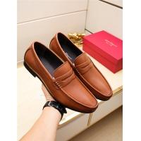 Salvatore Ferragamo SF Leather Shoes For Men #498125