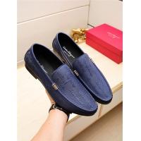 Salvatore Ferragamo SF Leather Shoes For Men #498127
