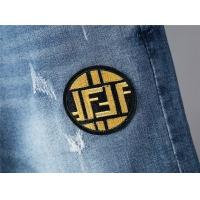 Cheap Fendi Jeans Trousers For Men #498175 Replica Wholesale [$48.50 USD] [W#498175] on Replica Fendi Jeans