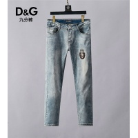 Cheap Dolce & Gabbana D&G Jeans Trousers For Men #498202 Replica Wholesale [$48.50 USD] [W#498202] on Replica Dolce & Gabbana D&G Jeans