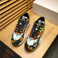 Cheap Versace Casual Shoes For Men #498683 Replica Wholesale [$89.24 USD] [W#498683] on Replica Versace Fashion Shoes