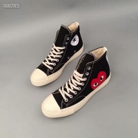 Converse High Tops Leather Shoes For Women #499219